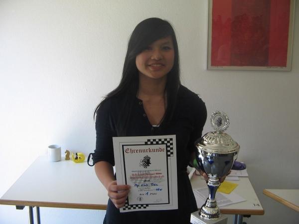My Linh Tran, Hessenmeisterin & Blitzhessenmeisterin U16w